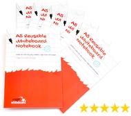 10 * A5 Magic Notebooks ™ - Wiederverwendbares Whiteboard Notizbuch - 8 Seitens