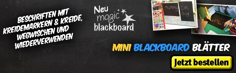 A4 Mini Magic Blackboard Blätter