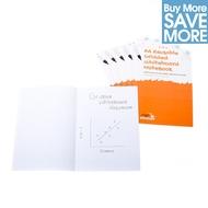 Class Pack - 30 A4 wiederbeschreibbares Whiteboard Notebooks™, kariert - 8 Seiten
