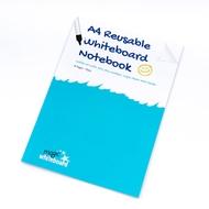 5 * A4 Magic Notebook ™ - Wiederverwendbares Whiteboard Notizbuch