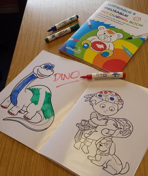 a4 kinder abwischbar reusable colouring in buch magic whiteboard. Black Bedroom Furniture Sets. Home Design Ideas