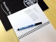 Klassenpaket - 30 A5 wiederverwendbare Whiteboard Notebooks  ™, 30 trocken abwischebaren Whiteboard Stiften mit dünner Spitze