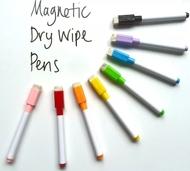 8 Farben Magnetische Whiteboard Marker Stifte mit Radiergummi  (8 farben, mixed)