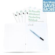 30 - A4 Reusable Whiteboard Handschrift Notebook 8 Seiten