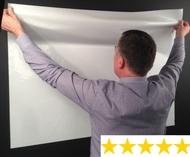 A0 Magic Whiteboard - Rollenfolie Flipchart - 10 Blätter - 1200mm x 900mm