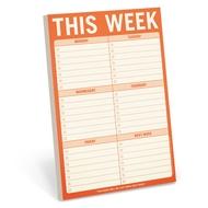 Knock Knock - Notizblock This Week