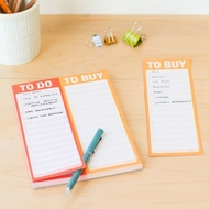 Knock Knock - Notizblock To Do - To Buy -  Aufgabenliste . Liste kaufen