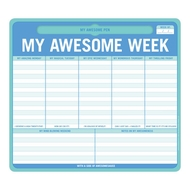 Knock Knock 5 Tage die Woche - My Awesome Week: Mausunterlage
