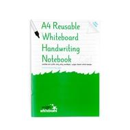 A4 Reusable Whiteboard Handschrift Notebook 8 Seiten