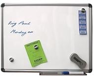 Magnetisches Whiteboard 60 x 90cm. Enthält Whiteboard Marker, Whiteboard Radiergummi und Reinigungstücher