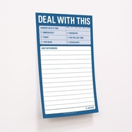 Knock Knock Deal With This - Große Haftnotizen - Great Big Sticky Notes