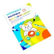A4 Kinder abwischbar & Reusable Colouring in Buch