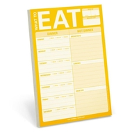Knock Knock - Notizblock - What to Eat