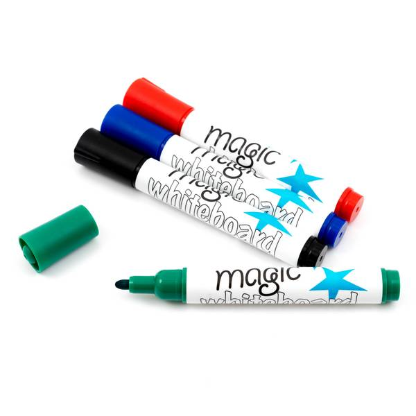 Magic Whiteboard feuchte Markers