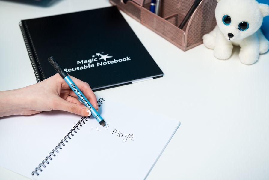 Magic Whiteboard Notebook, wipebook , Wiederverwendbares Whiteboard Notizbuch, löschbares Notizbuch