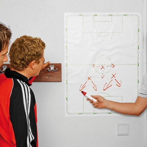 Fußball Whiteboard - Fußballtaktik Whiteboard - 25 Blatt