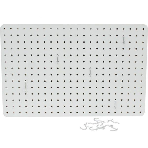 Lochplatte - Weiß - 36 x 56cm