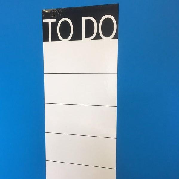 TO DO - Liste, selbstklebend 20cm x 50cm