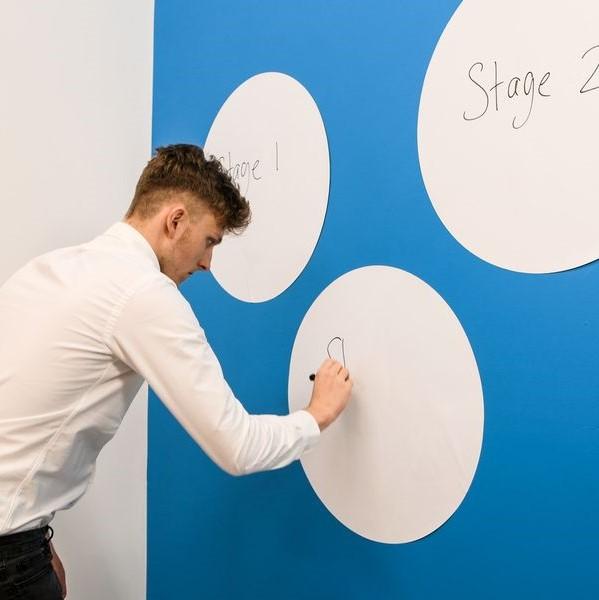 ⚪ Kreis-Whiteboard