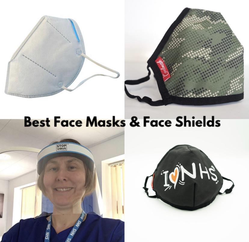 😷 Stop Virus ™ Face Masks & Face Mask Shields