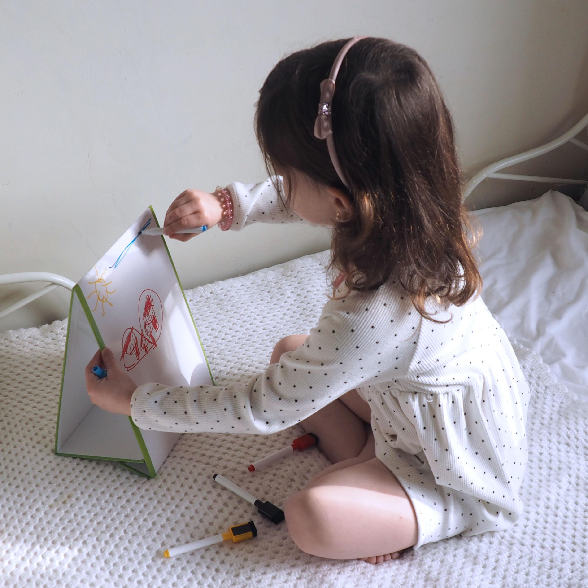 🧲 Kids Art Staffelei doppelseitiges Staffelei für Kinder Whiteboard