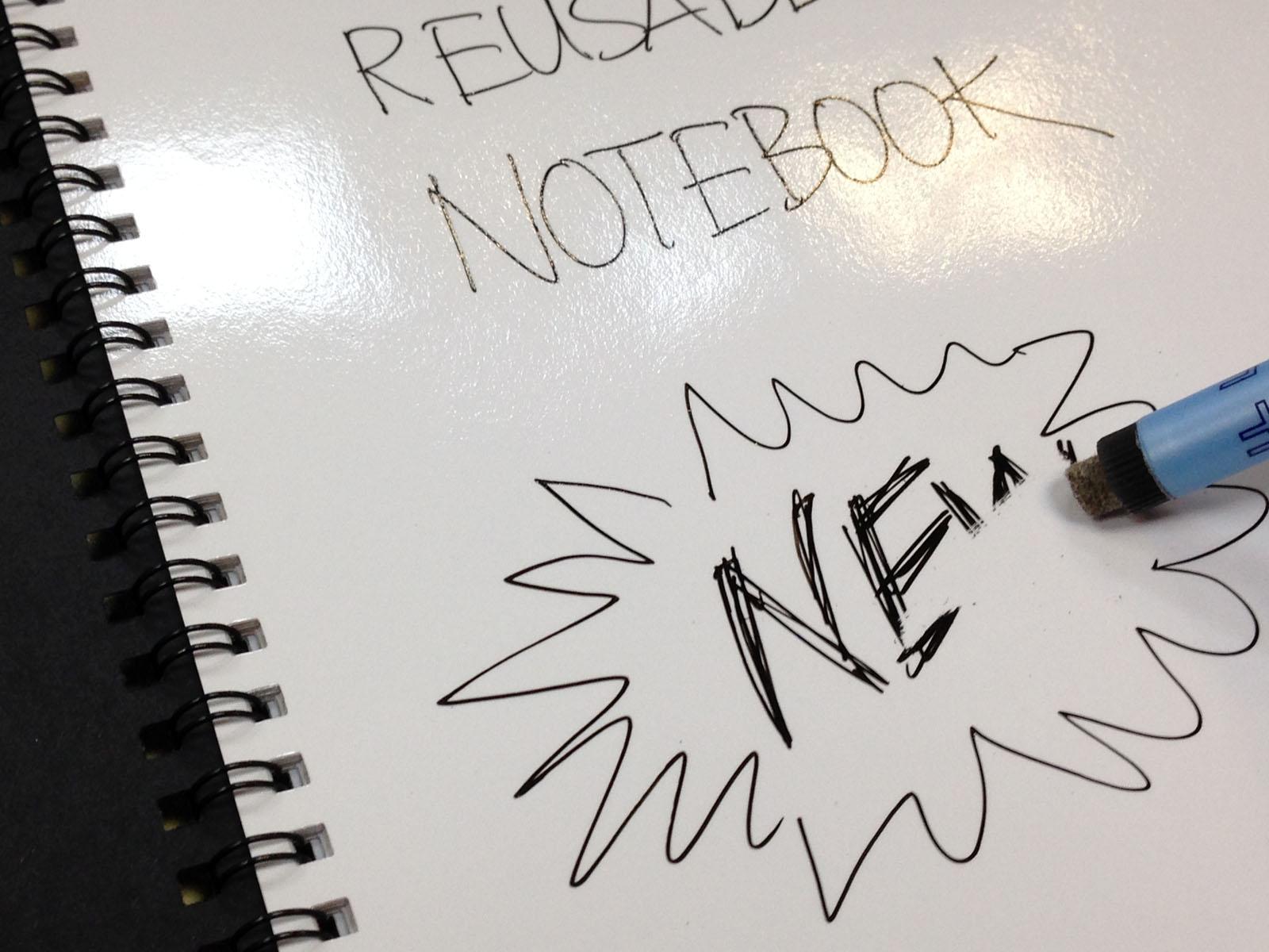 Magic Notebook ™ ist das originale und beste wiederverwendbare Whiteboard Notizbuch